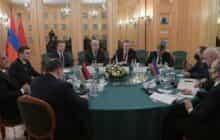 برگزاری نخستین نشست گروه کاری روسیه-آذربایجان-ارمنستان در مسکو