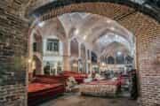 سنگ فرش شدن بیش از ۹۵ درصد بازار تبریز/ احیای هویت تاریخی پاساژ کوچه سی