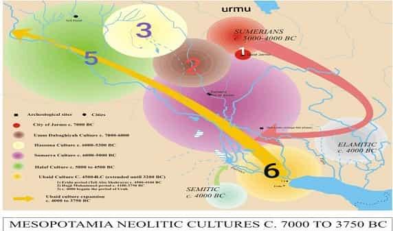 آذربایجان، خاستگاه سومریان در ۸۰۰۰ سال پیش