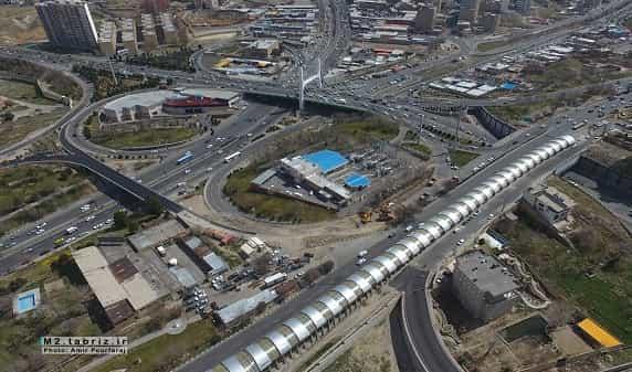 پل همسان کابلی به طول یک و نیم کیلومتر افتتاح می شود