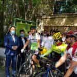 دوچرخه سواران تبریزی دوستدار محیط زیست تا مشهد رکاب میزنند