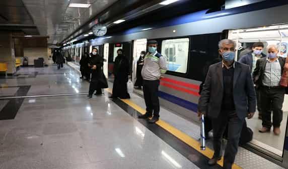 خدمات رسانی مترو تبریز در روز جمعه، ۱۴ خرداد