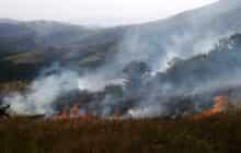 آتش فقدان پایگاه دایمی اطفای حریق بر جان جنگل های قره داغ