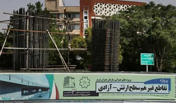 تقاطع های غیرهمسطح ارتش روی اعصاب شهروندان تبریز