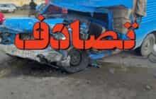 سانحه رانندگی در اتوبان پاسداران تبریز ۴مصدوم و ۱فوتی برجای گذاشت